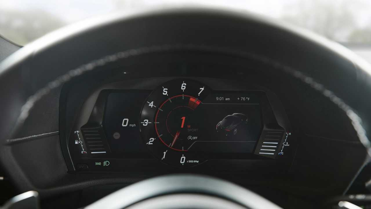 The Toyota Supra's Instrument Cluster Was Designed By BMW