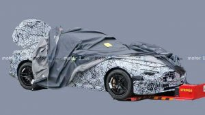 2022 Mercedes SL Spied With Production Body For The First Time