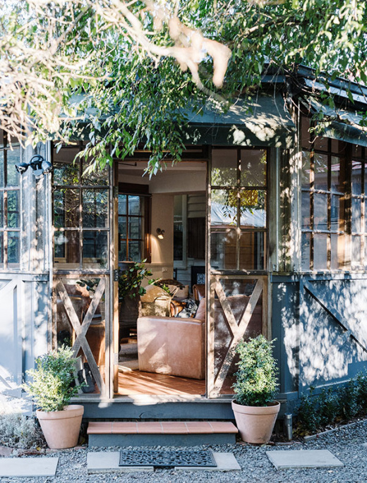 An 1853 Daylesford Homestead Turned Charming Accommodation