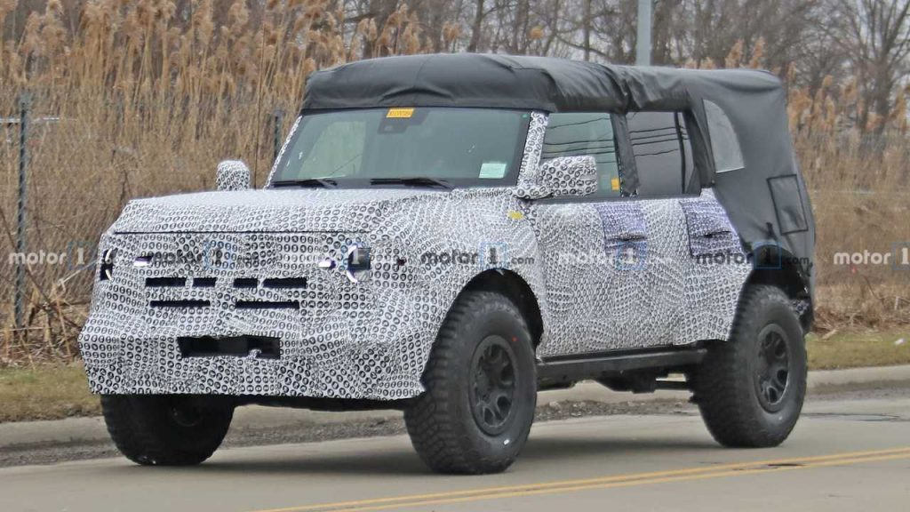 2021 Ford Bronco Coming With Twin-Turbo 2.7-Liter EcoBoost V6: Report