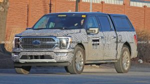 2021 Ford F-150 Hybrid Spied With Updated Front-End Design