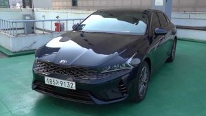 New Kia Optima And Its Solar Roof Extensively Detailed On Camera