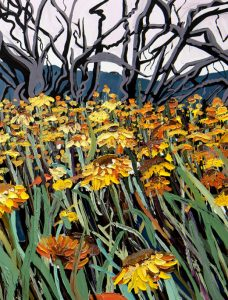 Baden Croft's Landscape Paintings Quiver With Human Energy