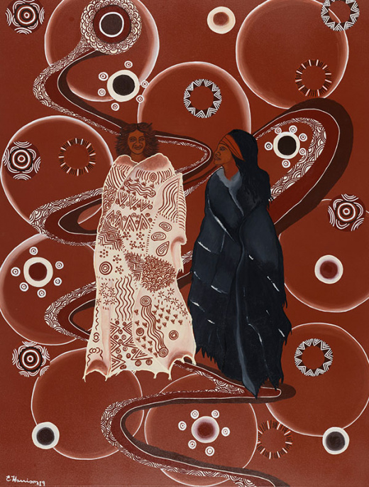 Two Strong Sisters Connected In A Powerful New Exhibition