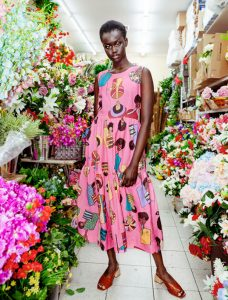 Olana Janfa x Obüs is a colourful collaboration about the power of mothers