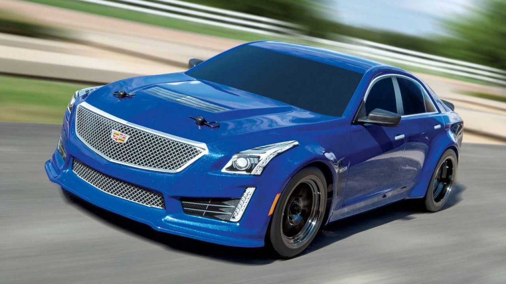 Cadillac CTS-V RC Car Tops Out At Over 70 MPH
