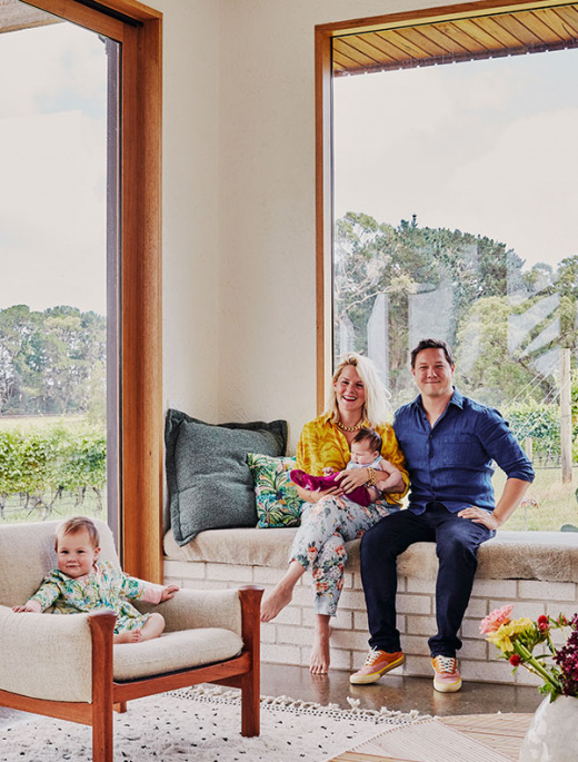 A Family Home Full Of Warmth, Fit For A Colour Queen!