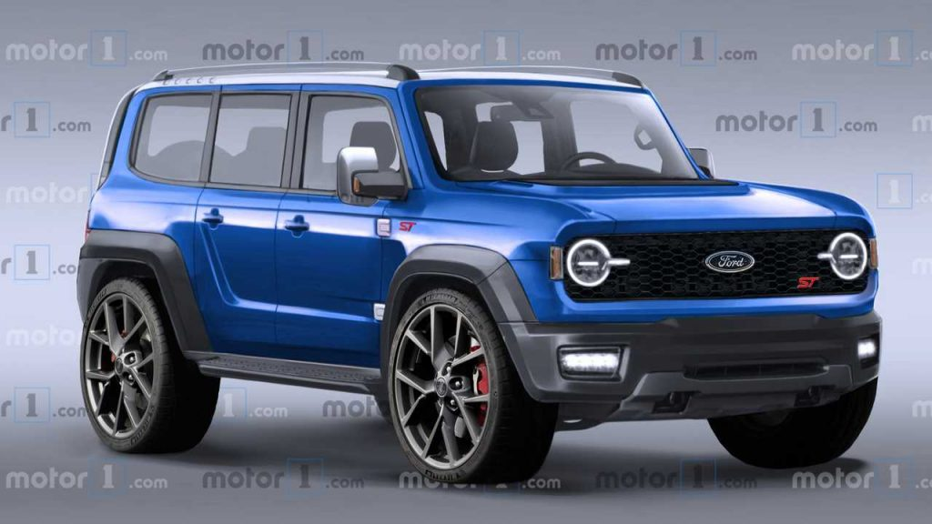 Ford Bronco ST Rendering Imagines Some Unlikely Awesomeness
