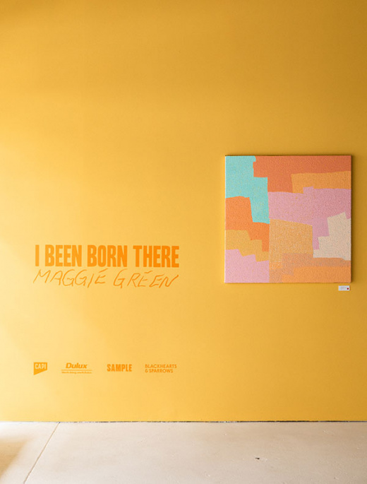 'I Been Born There' By Maggie Green At TDF Collect – A Virtual Walkthrough! - The Design Files