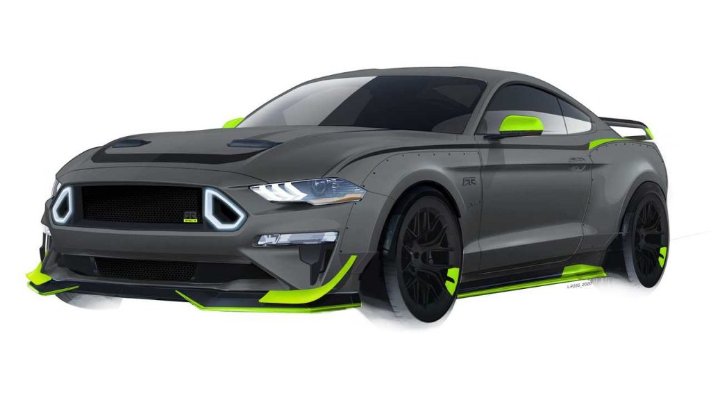 RTR Celebrates 10th Anniversary With 750-Horsepower Mustang Spec 5