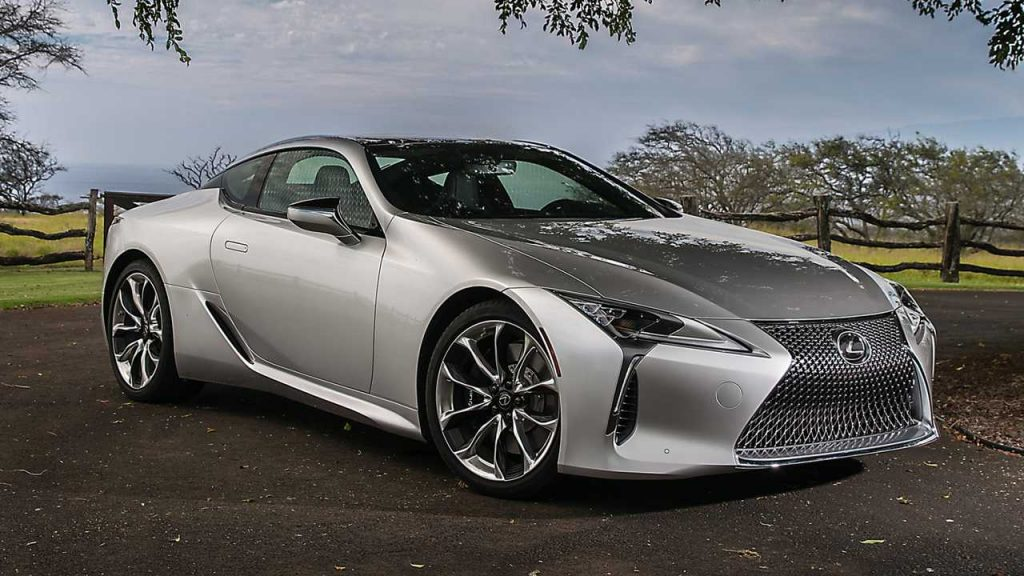 Lexus LC Loses Weight For 2021, Gains New Colors And Wheels