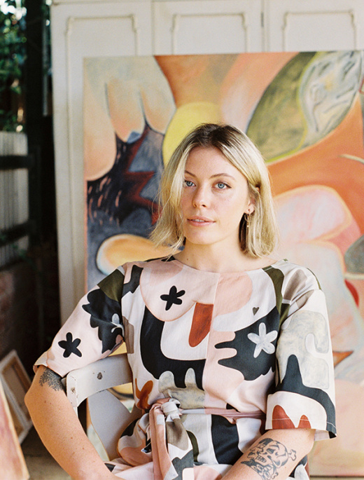 Kayleigh Heydon's Paintings Will Light Up Your Life