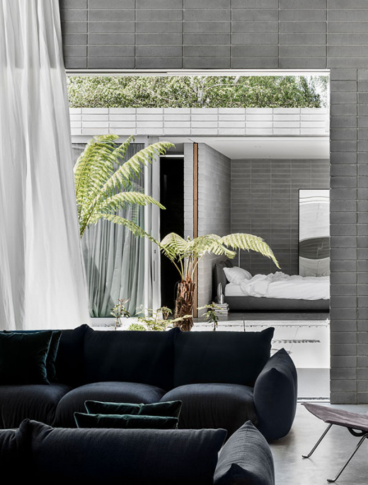 A Sleek and Serene Japanese-Inspired Home In Melbourne